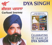 Dya Singh Gurbani Journey 4 CD Combo